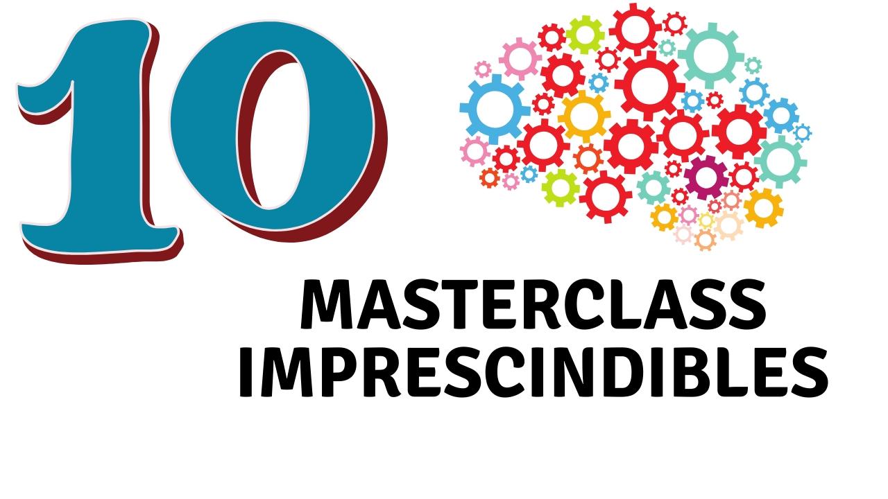 DIEZ MASTERCLASS IMPRESCINDIBLES